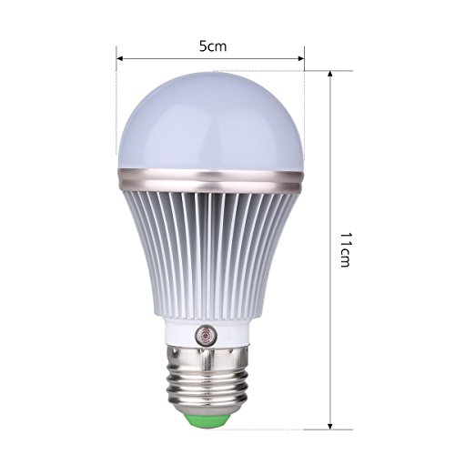 E27 LED Dusk To Dawn Sensor Light Bulbs Built-in
