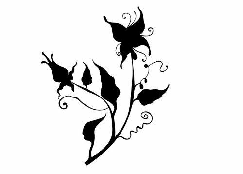 Wandtattooladen Wandtattooladen Wandtattooladen Wandtattoo - Nachtschatten Größe 77x95cm Farbe  weiß B013R7V03I | Einfach zu spielen, freies Leben  7c3abc