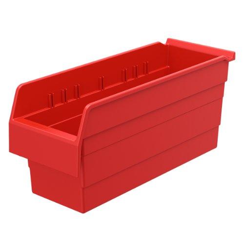 AKRO-MILS 30868 ShelfMax 8 Plastic Nesting Shelf Bin Box,...