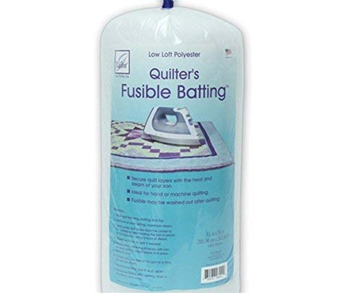 June Tailor Fusible Quilt Batting (Polyester) - Double Size 81' x 91'