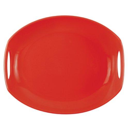 DANSK Classic Fjord Platter, Chili Red