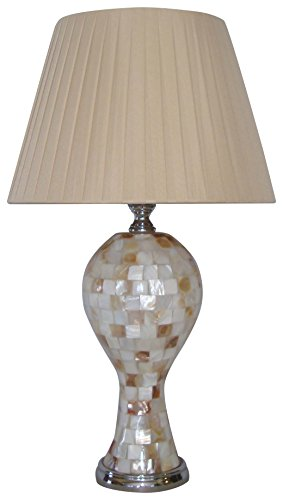nu steel LS-NL10225 Colorful Shell Mosaic Table Lamp (Shell Mosaic Table Lamp)