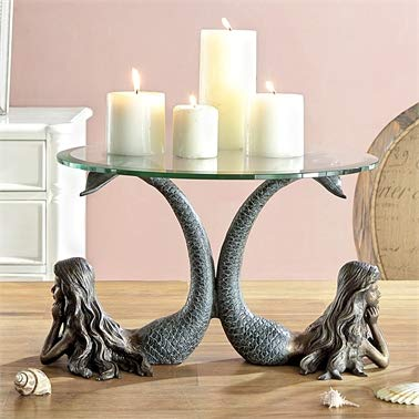 Mermaid Duet Table Server / Candleholder