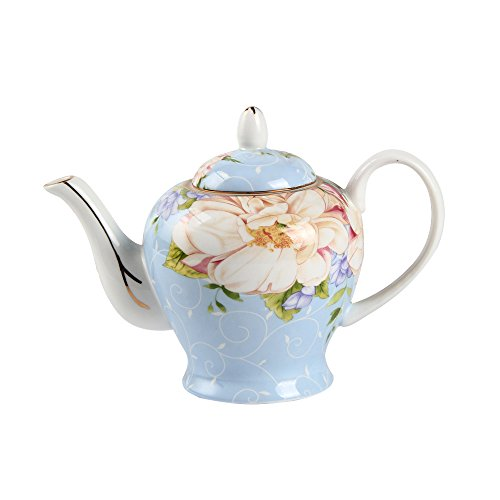 Jomop Lovely Vintage Teapot Perfect for a Tea Party (1, Light Blue)