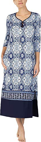 ELLEN TRACY Women's Distressed Tile Long Tunic, L/XL from ELLEN TRACY