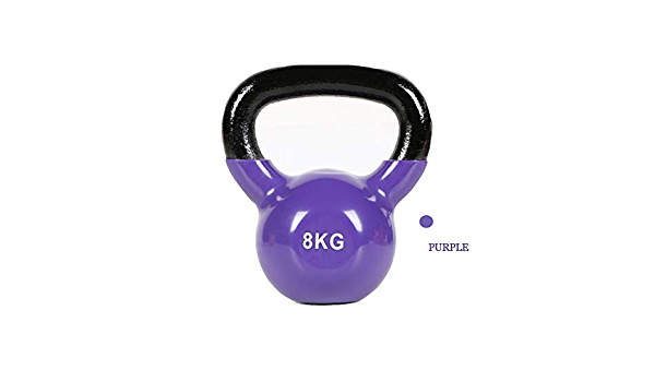 FWQAZ Pesa Rusa Kettlebell,7 Colores Pesa Rusa Unisex Adulto,2.26-16 kg