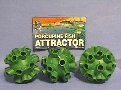 Cedars Bill Dance Porcupine Fish Attractor Spheres 3 Pack, Outdoor Stuffs