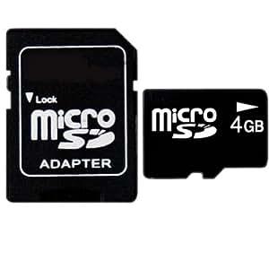 4GB MicroSD Tarjeta De Memoria Con Adaptador Para Nokia C7 Astound