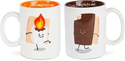 Smores Coffee Mugs made our list of cool gadgets for our 10 Campfire Smores Recipes Smore Variations That Will Make Your Mouth Water