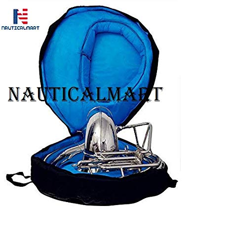Sousaphone Bb Big Bell 25'' Nickel by NauticalMart (Image #3)