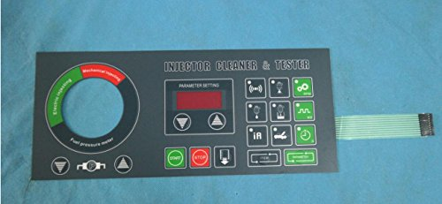 TEKTINO english panel for inj-6b INJECTOR tester and cleaner by TEKTINO