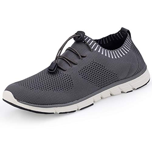 SIKELO Women's Athletic Walking Shoes Casual Mesh-Comfortable Work Sneakers Size 8.5