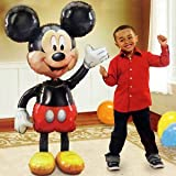 Jumbo Birthday Foil Balloon Mickey Mouse Airwalker 52'' Decoration Party Supplies
