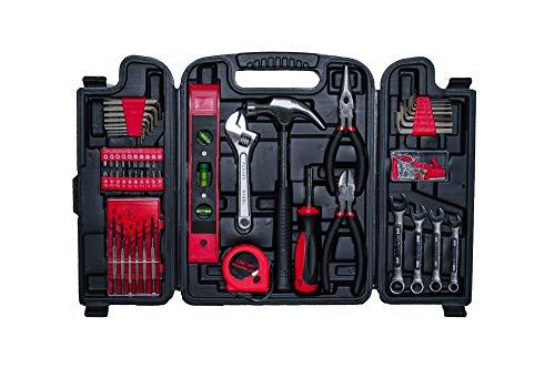 Orange Cartman 39-Piece General Household Hand Tool Set With Fitted Case
