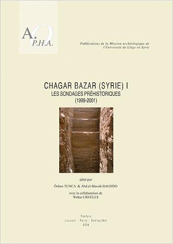 Chagar Bazar Syrie I Les Sondages Prehistoriques 1999 2001 Publications De La Mission Archeologique LUniversite Liege En Abd El Massih