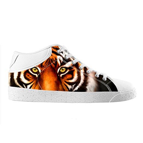 Cheese Weihnachten Glücklicher Tiger Hohe Qualität Schuhe Canvas Custom Chukka für herren, EUR 41