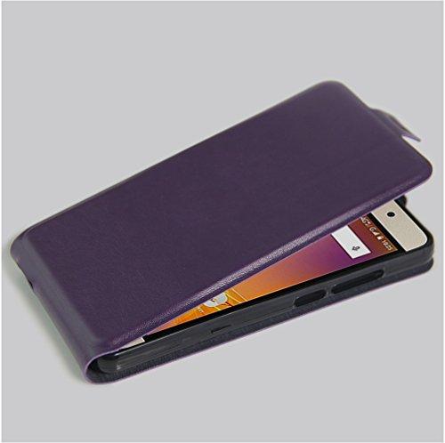 Funda ZTE Grand X3,Manyip Caja del teléfono del cuero,Protector de Pantalla de Slim Case Estilo Billetera con Ranuras para Tarjetas, Soporte Plegable, Cierre Magnético D