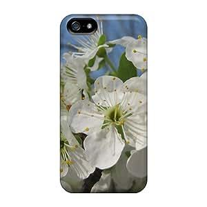 Special Ksander Skin Case Cover For Iphone 5/5s, Popular Effulgent Plum Blossoms Phone Case