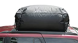 STELLAR 10203-309 Waterproof Roof Top Cargo bag- Mat- Lashing straps combo