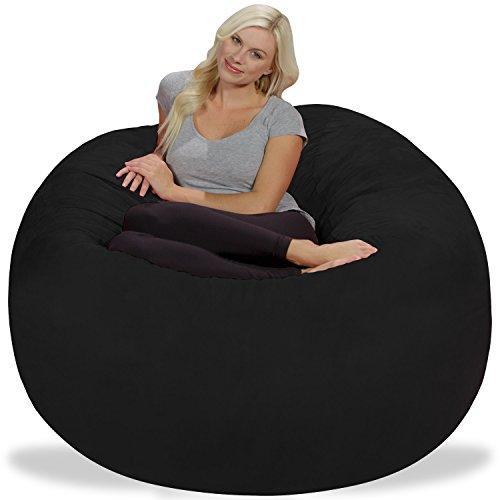 Chill Sack Bean Bag Chair Giant 5 Memory Foam Furniture