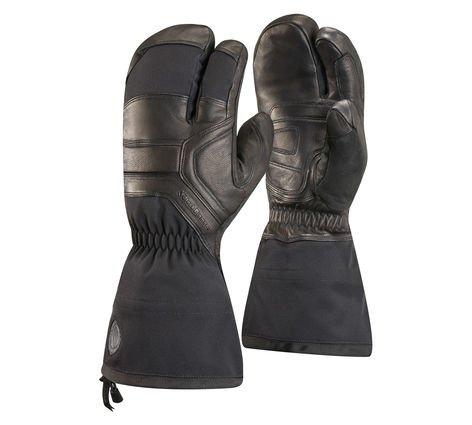 - Black Diamond Men's Guide Finger Gloves, Black, Large