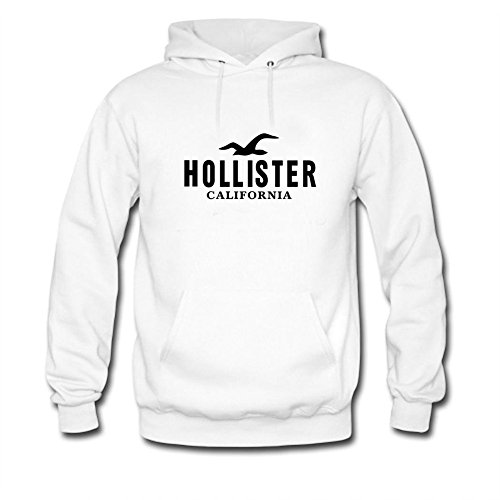 Hollister California Black Logo Printed For Mens Hoodies