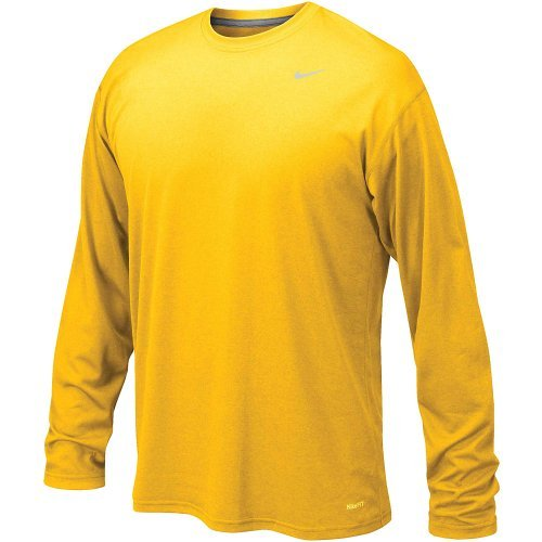Nike Legend Long Sleeve Poly Top Gold XL
