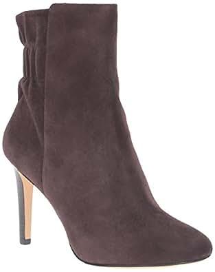 Nine West Women's Herenow Ankle Bootie, Dark Brown, 6.5 M US