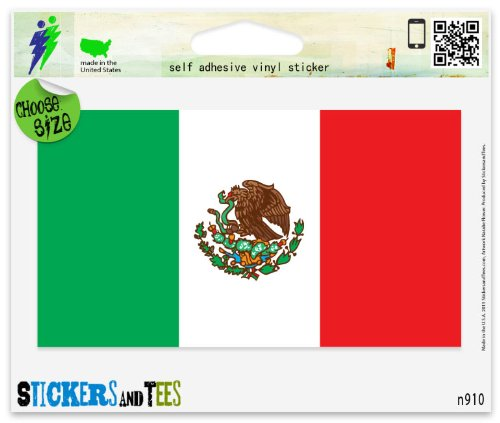 Mexico Mexican Flag car Vinyl Car Bumper Window Sticker 5