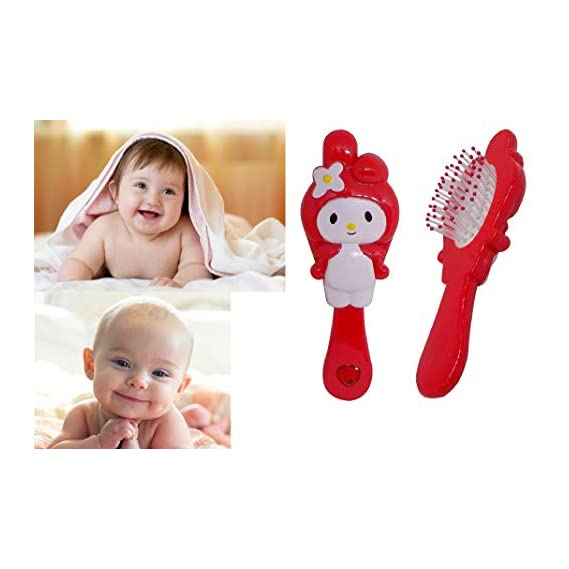 Prime Baby Hair Grooming Comb Brush for Kids Boys and Girls, Kids Gift Item Hair Comb for New Born Baby, Multi Color