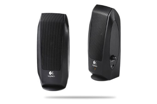 Logitech S120 Powered Multimedia Stereo Speakers (Pack of 2) 9800000122
