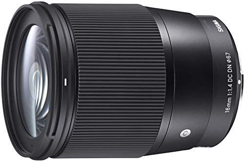 Sigma 16mm F/1.4 DC DN Contemporary Lens for Sony E (402965)
