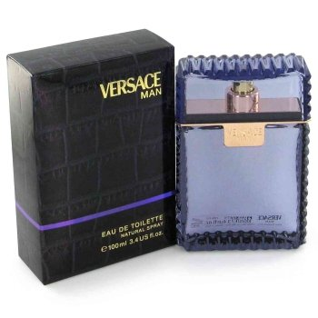 (Versace Man By Versace Eau Fraiche Eau De Toilette Spray (Blue) 3.4 Oz Men)