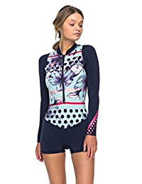 Roxy Womens Roxy™ 2Mm Pop Surf Long Sleeve Front Zip Springsuit Erjw403016