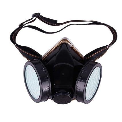 Máscara de seguridad industrial con cartucho para la seguridad de gas ...