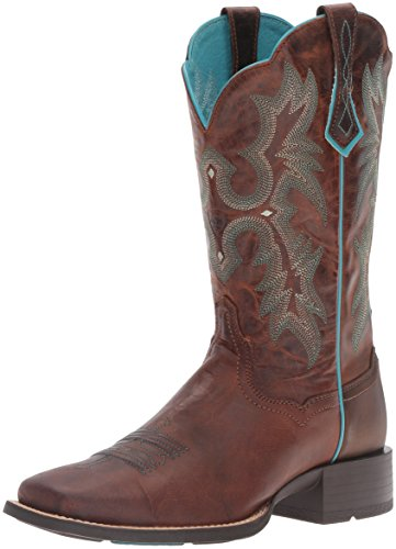 Brown Sassy Ariat Femme sassy Chaussures Tombstone Brown Western x0qU8xR