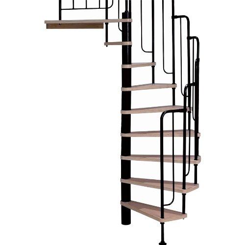 wood spiral staircase kit - 9