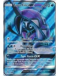 Box  myboost TAPU FINI GX FULL ART 133 147 - Sun and Moon 3 Burning Shadows - 10 English Pokemon trading cards