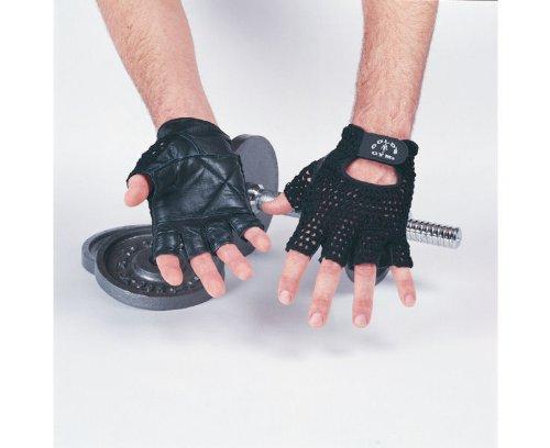 Golds Gym Mesh Back Fitness Training Gloves - Medium