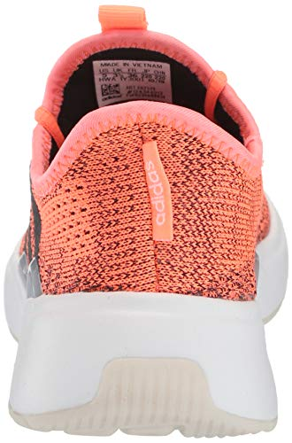 adidas Women's Mavia X Running Shoe, Signal Coral/core Black/Dash Grey, 8.5 M US