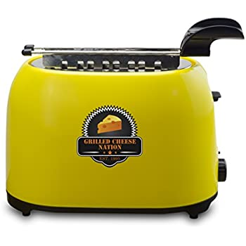 Smart Planet GCN-1ST Grilled Cheese Toaster with Grill Cage, Multicolor