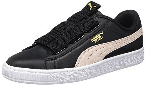Wn's Basket Para puma Maze pearl Mujer Lea Zapatillas Puma Black Negro AUnOaxO