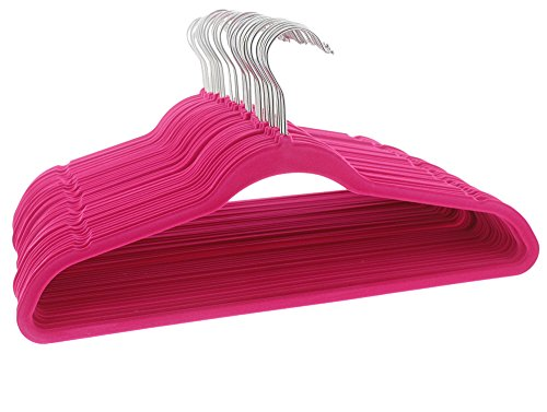 Hot Pink Velvet Hangers Clothing product image
