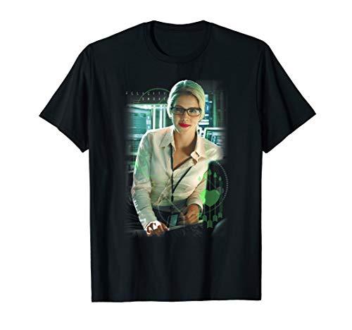 Arrow TV Series Felicity Smoak T Shirt (Dc Shirt Arrow)