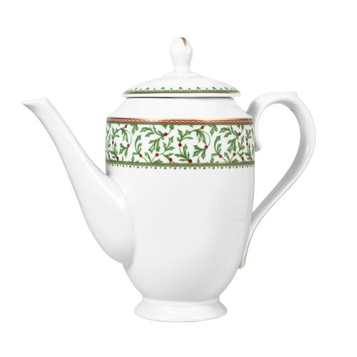 - Mikasa Holiday Traditions Hot Beverage Server, 43-Ounce