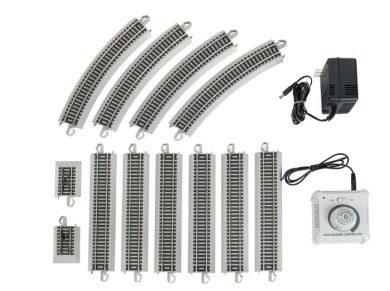 Bachmann Trains Nickel Silver E-Z Track Reversing System-Ho (Nickel Silver Rail)