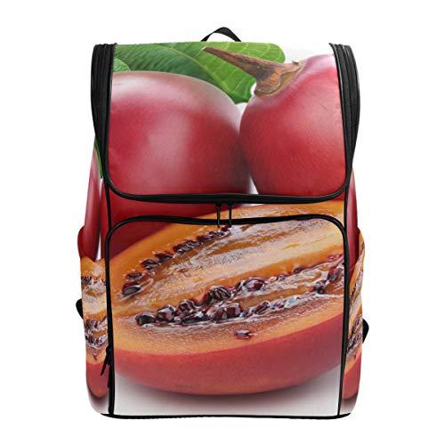Rose Hips Berries Cut Backpack Lightweight Travel School Rucksack for Boys Girls (Rose Hip Berry)