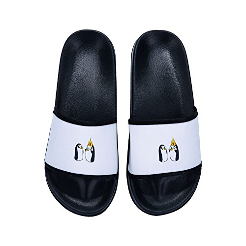 Summer Slippers Women Beach Lovely Penguin Flat Shoes Women Fashion Casual Sandals