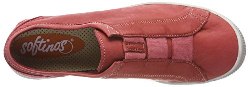 Rot Mocasines Para Washed Mujer red Ini453sof Softinos qn7OxXwvC