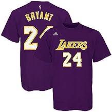 adidas L88711 The Go To Tee NBA Lakers #24 Kobe Bryant